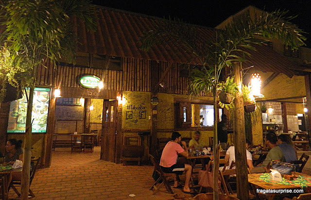 Bar Taboa, em Bonito, Mato Grosso do Sul