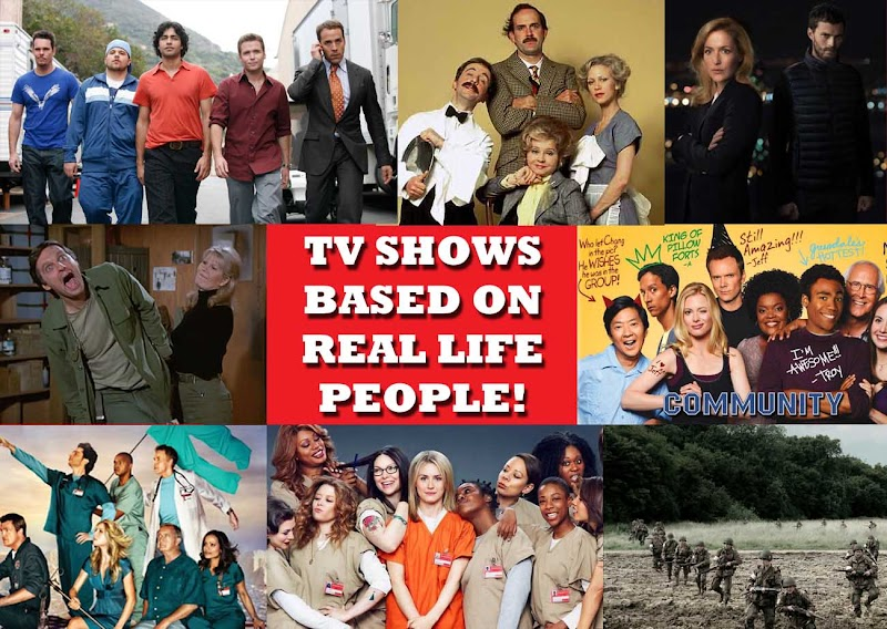 TV shows inspired by Real life People #AtoZChallenge