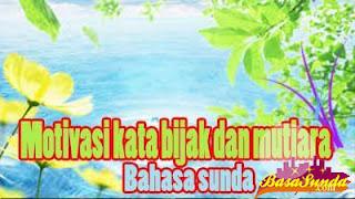 Koleksi Kata Mutiara Bahasa Sunda LEMES