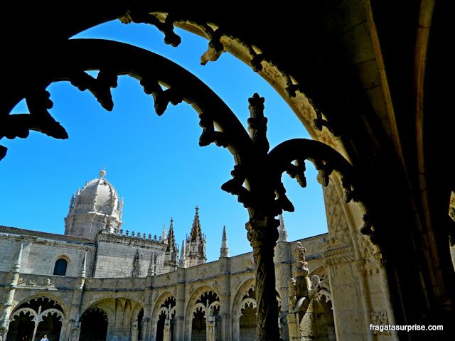 Detalhes decorativos do Mosteiro dos Jerónimos, Lisboa