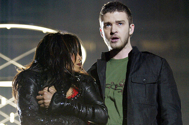 Janet Jackson & Justin Timberlake 2004 Super Bowl Halftime Show