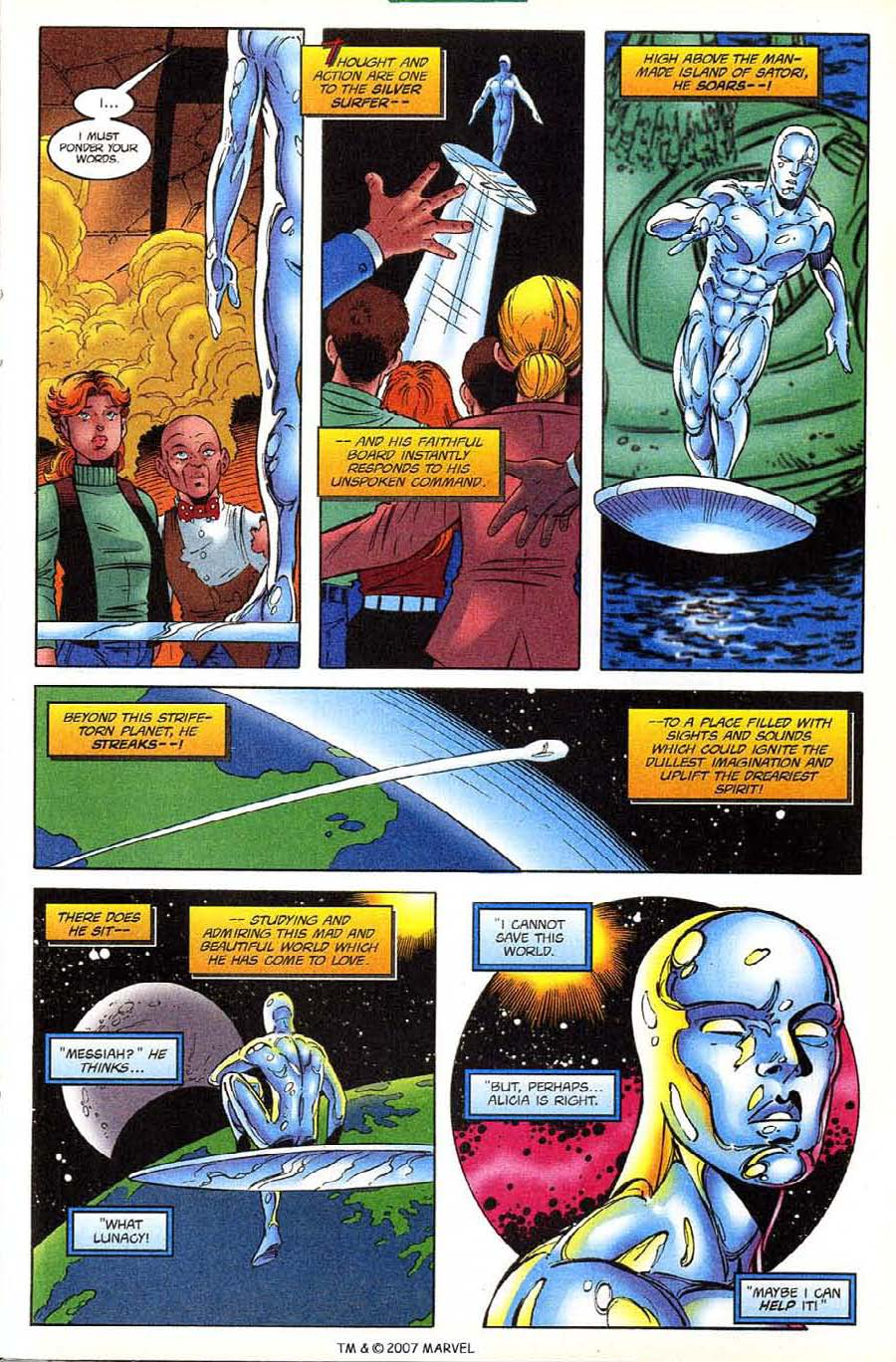 Read online Silver Surfer (1987) comic -  Issue #133 - 23