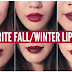Top Lipsticks for Winters