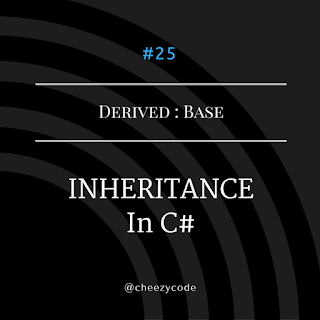 Inheritance in csharp with example