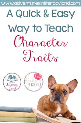 Have you ever asked a student to describe a character and they answer: nice - or start making a list of their eye color, hair color, etc.?  Click here to get some free resources and tips that you can use to help students start to dig deeper!