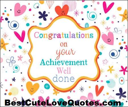 Congratulations Quotes Messages