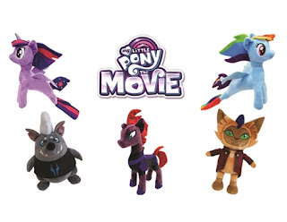 My Little Pony the Movie Plush by Bandai Namco