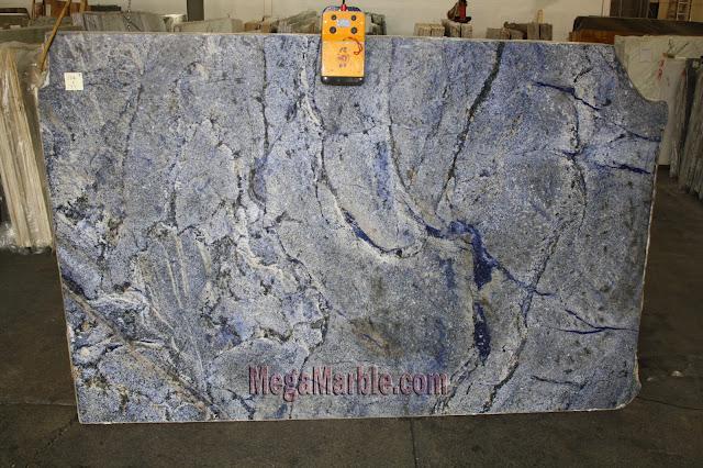 Blue Bahia Granite slabs for countertop