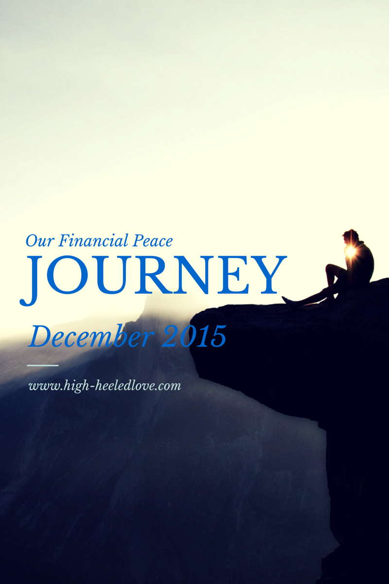 Our Financial Peace Journey [Dec 2015 Check at High-Heeled Love]