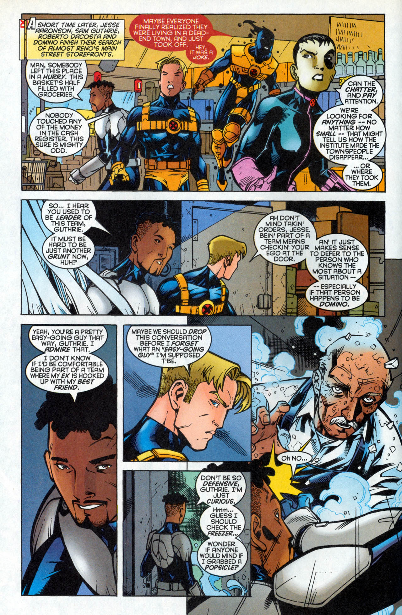Read online X-Force (1991) comic -  Issue #86 - 11