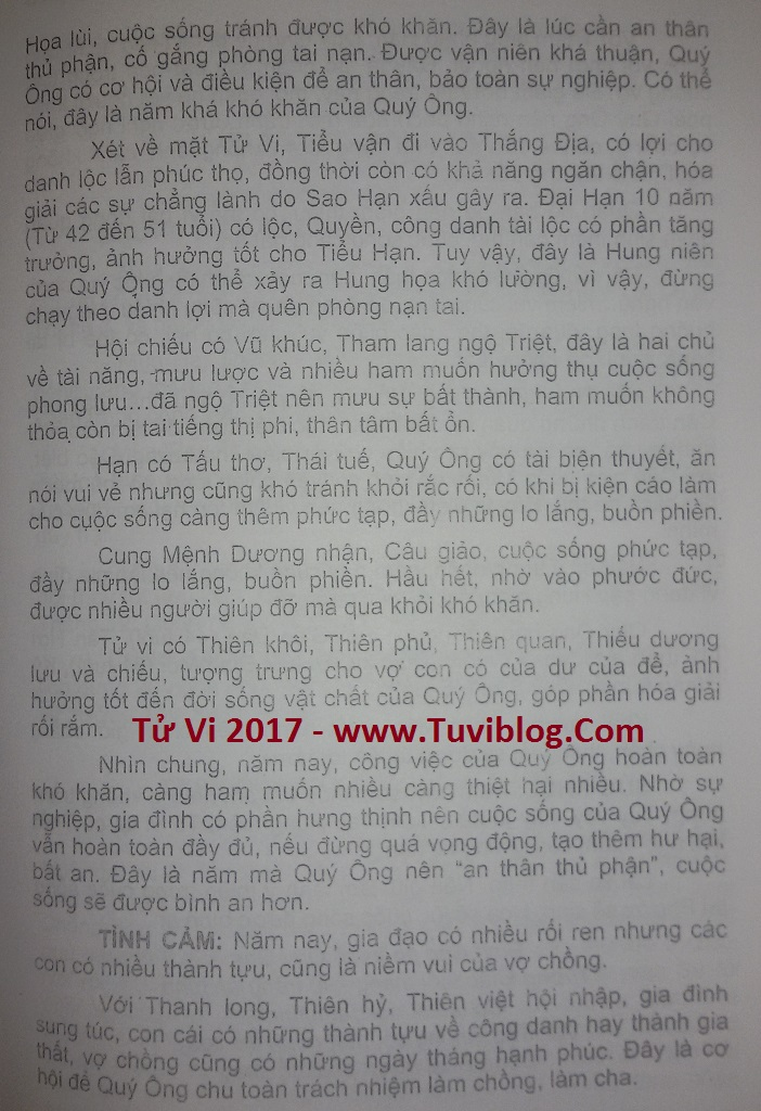 XEM TUOI BINH NGO NAM 2017