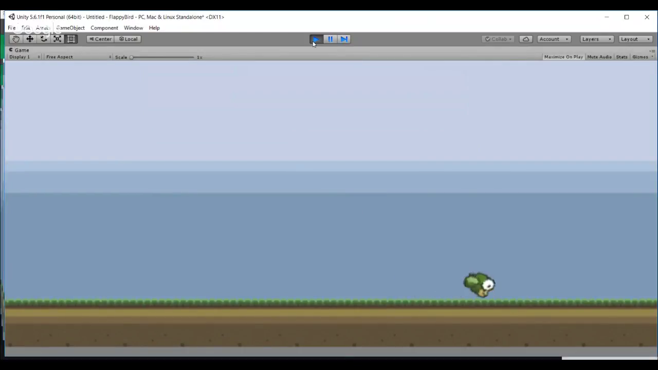 002 - 2D Flappy Bird Game With Unity Stream Our Mistakes podcast