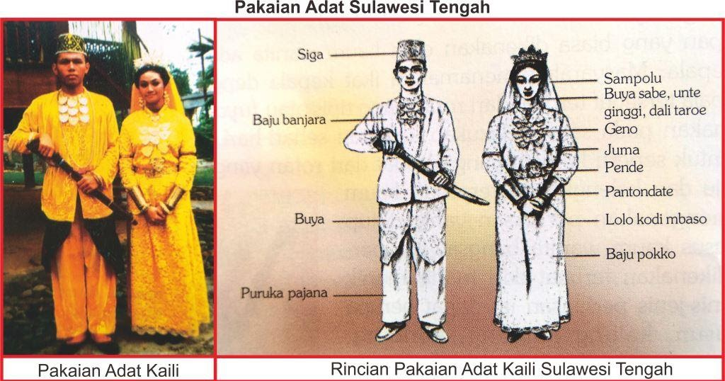 Pakaian Adat Sulawesi Utara Disebut - Baju Adat Tradisional