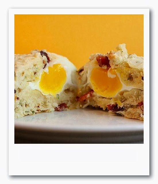 muffins egg bacon