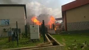 nafdac headquarter on fire