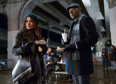 Reverie (series) Sarah Shahi and Dennis Haysbert Image 1