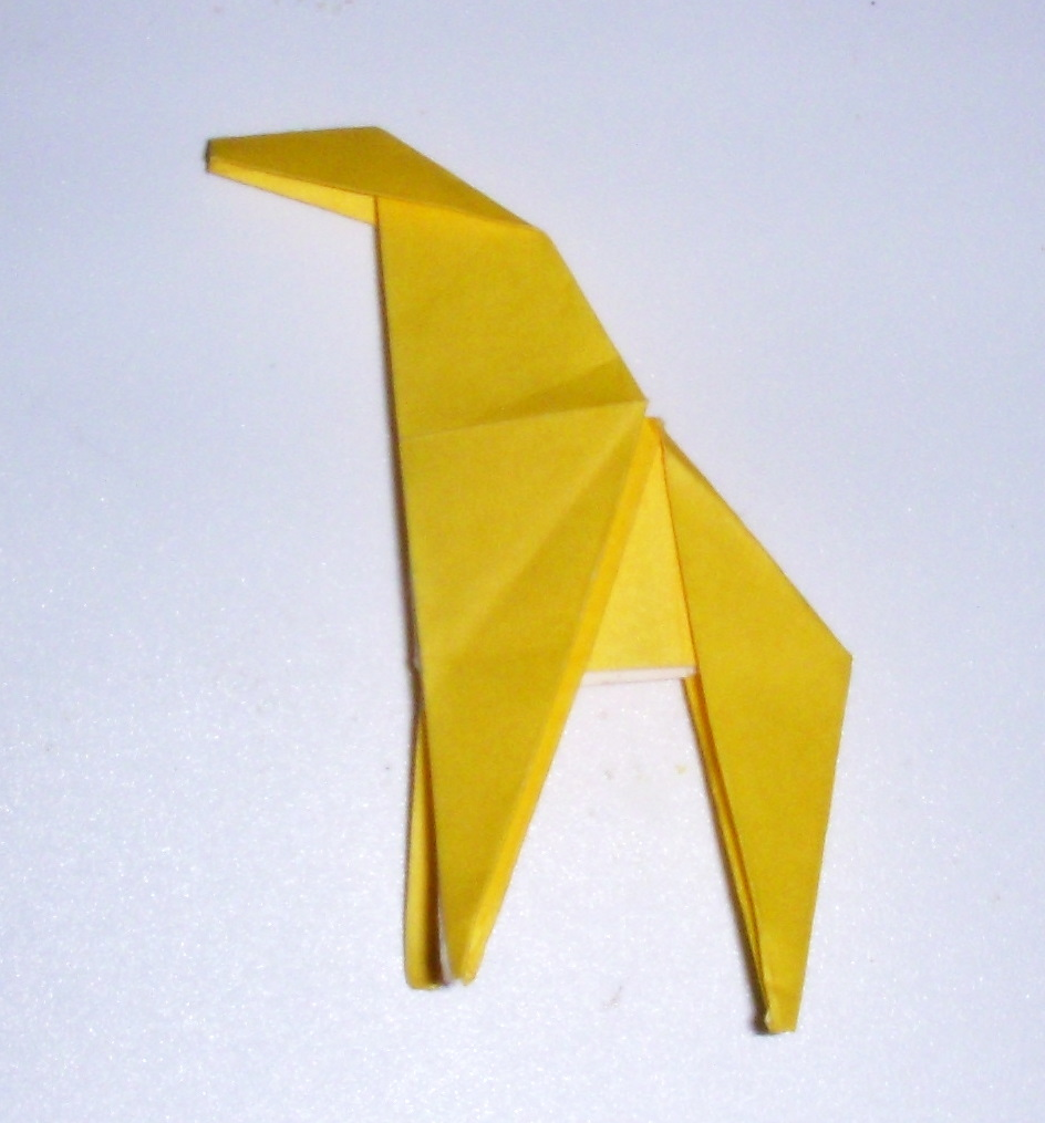 Origami: Origami Giraffe - photo#26