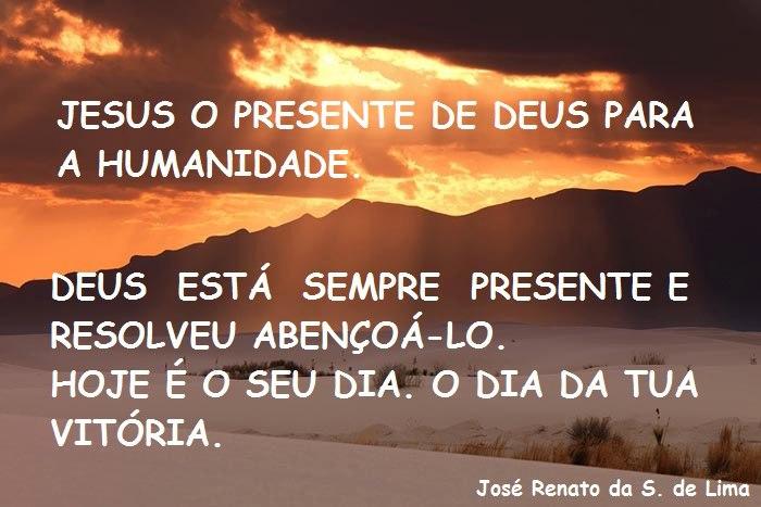 Versículo Bíblico De Proteção: ESTUDOS BÍBLICOS: JESUS O PRESENTE DE DEUS