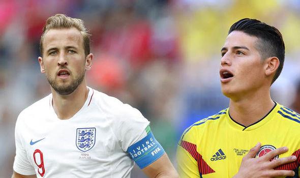 مشاهدة مباراة كولومبيا وانجلترا بث مباشر الان
