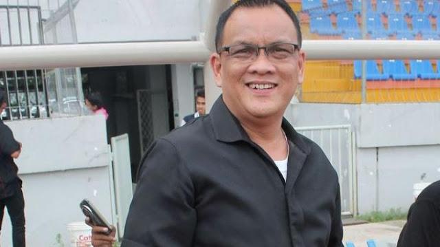 Sekretaris Tim Sriwijaya FC, Achmad Haris (sumber foto : internet)