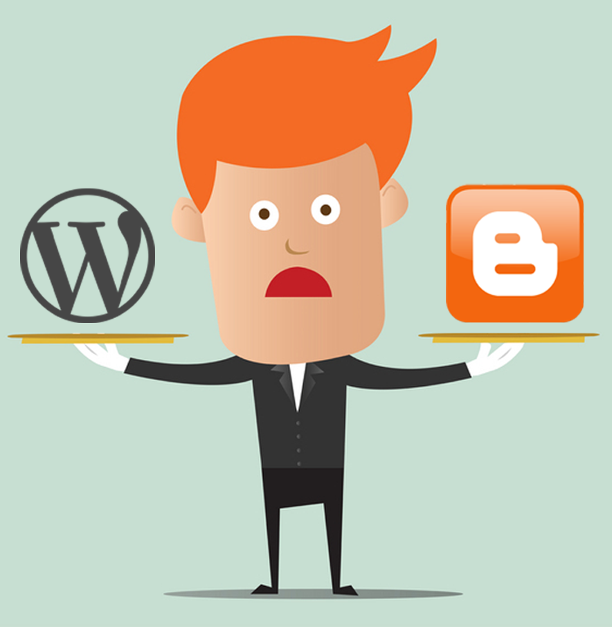 Blogspot vs WordPress Website which one to choose