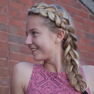 Side Dutch Braid for Girls