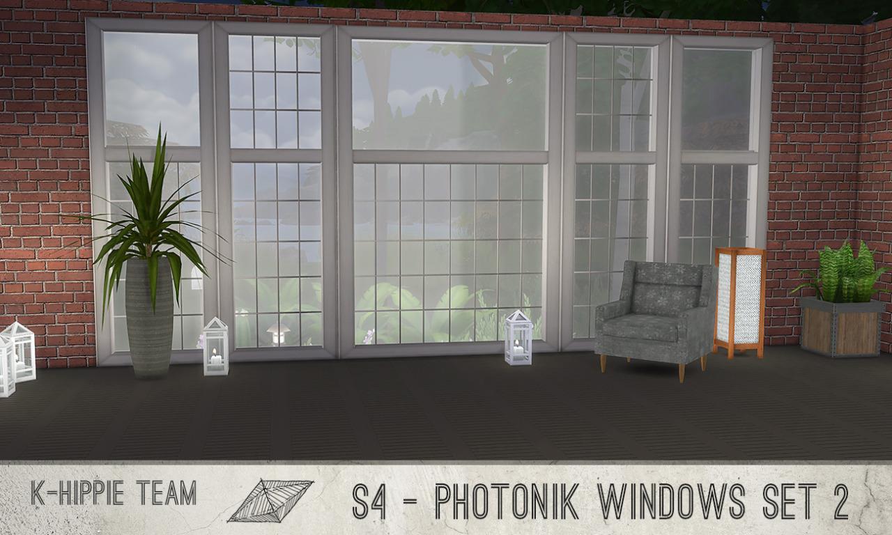 My Sims 4 Blog Photonik Windows By K Hippie