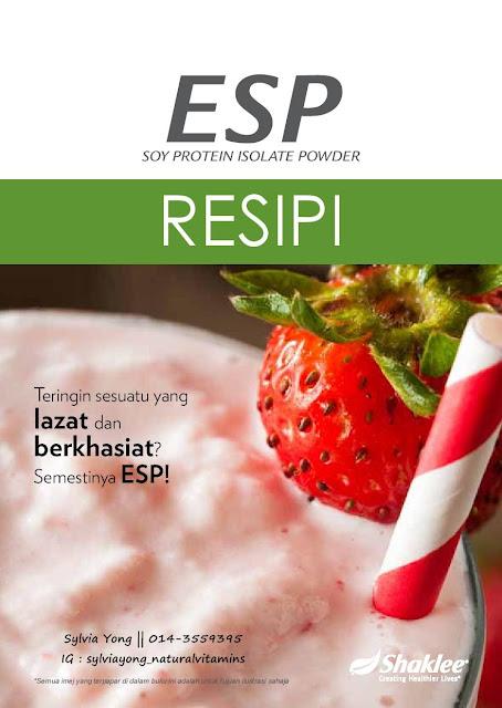 Kepelbagaian Resipi ESP - Lazat dan Berkhasiat