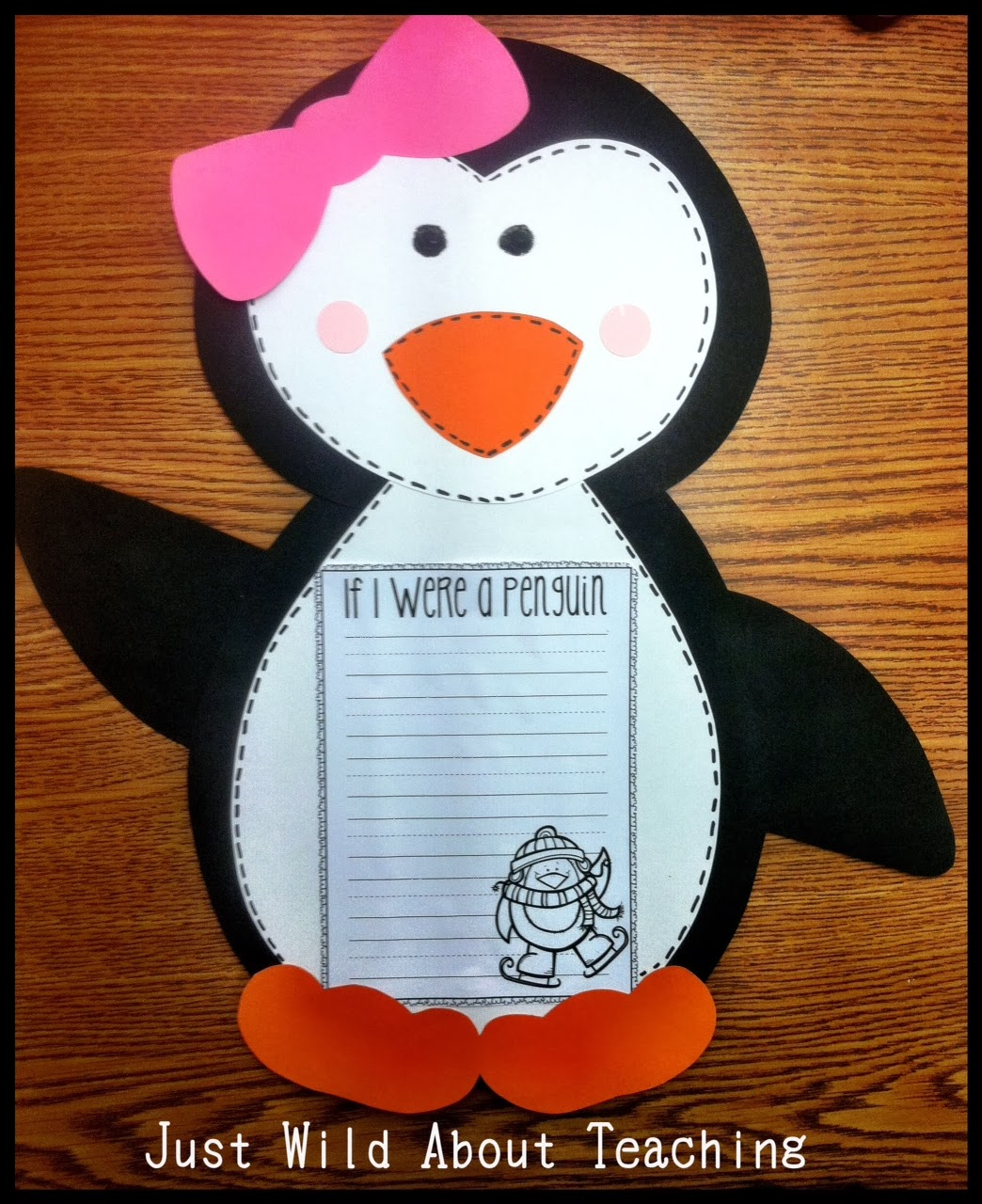 Just Wild About Teaching Playful Penguins