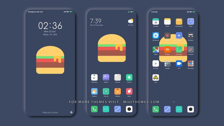Burger Dual v11 MIUI Theme