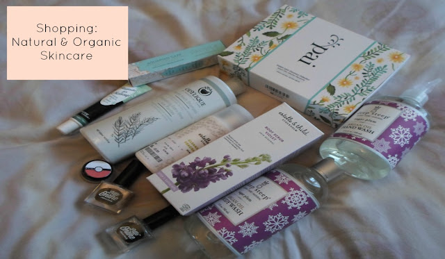 Video Natural and Organic Skincare Haul