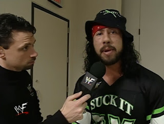 WWE / WWF Armageddon 1999 - Michael Cole interviews X-Pac