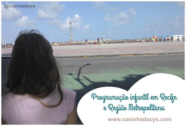 passeios em recife para criança