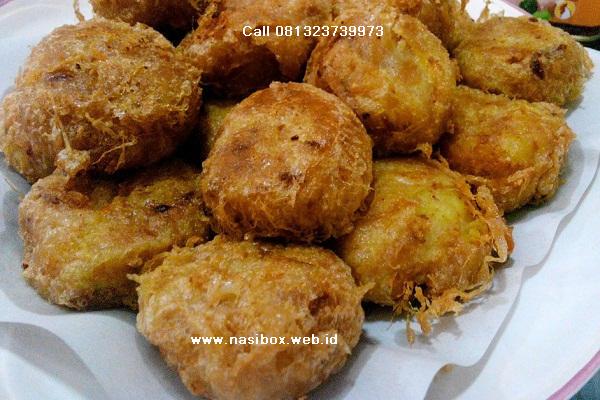 Resep perkedel kentang nasi box cimanggu ciwidey