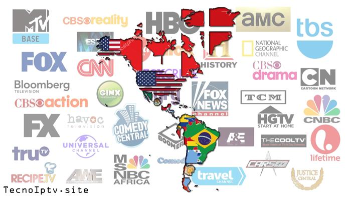 Iptv: Lista M3U Latino América
