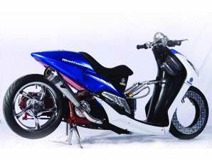 referensi modifikasi motor mio m3 blue core
