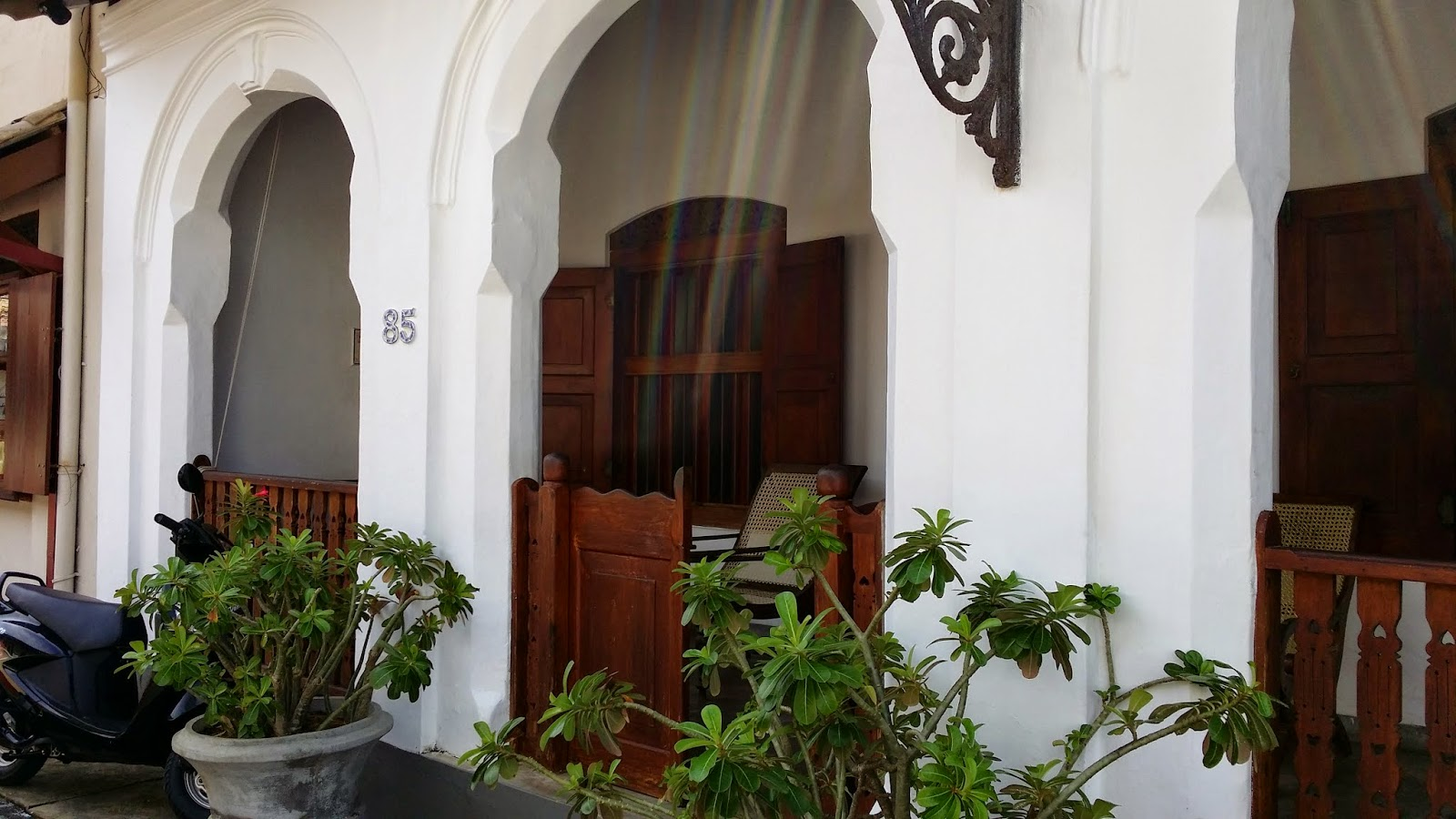 Casa Colonial en Galle (Sri Lanka)