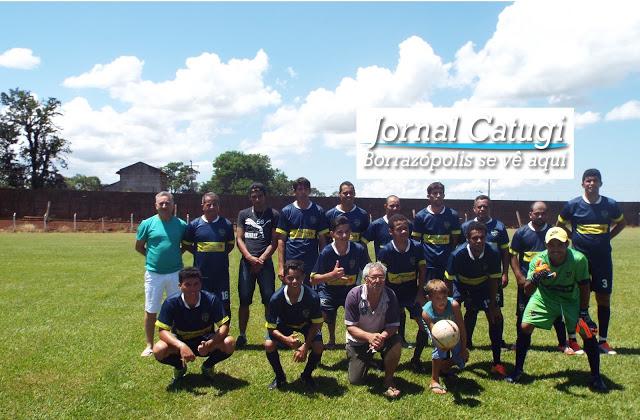 Time da Santa Maria empata com equipe de Cruzmaltina
