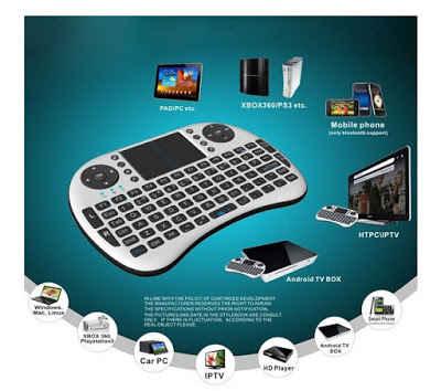 104k - Bàn phím kiêm chuột không dây UKB 500-RF Mini Keyboard giá sỉ và lẻ rẻ nhất