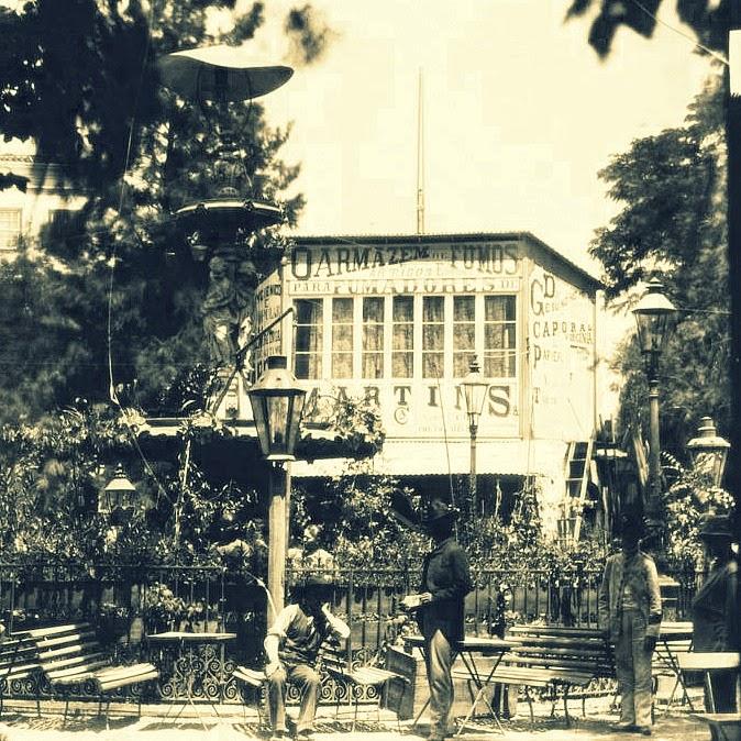 Porto Alegre: Praça XV, no fim do século XIX