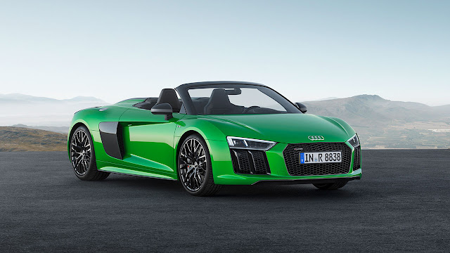 A new level of freedom – the Audi R8 Spyder V10 Plus
