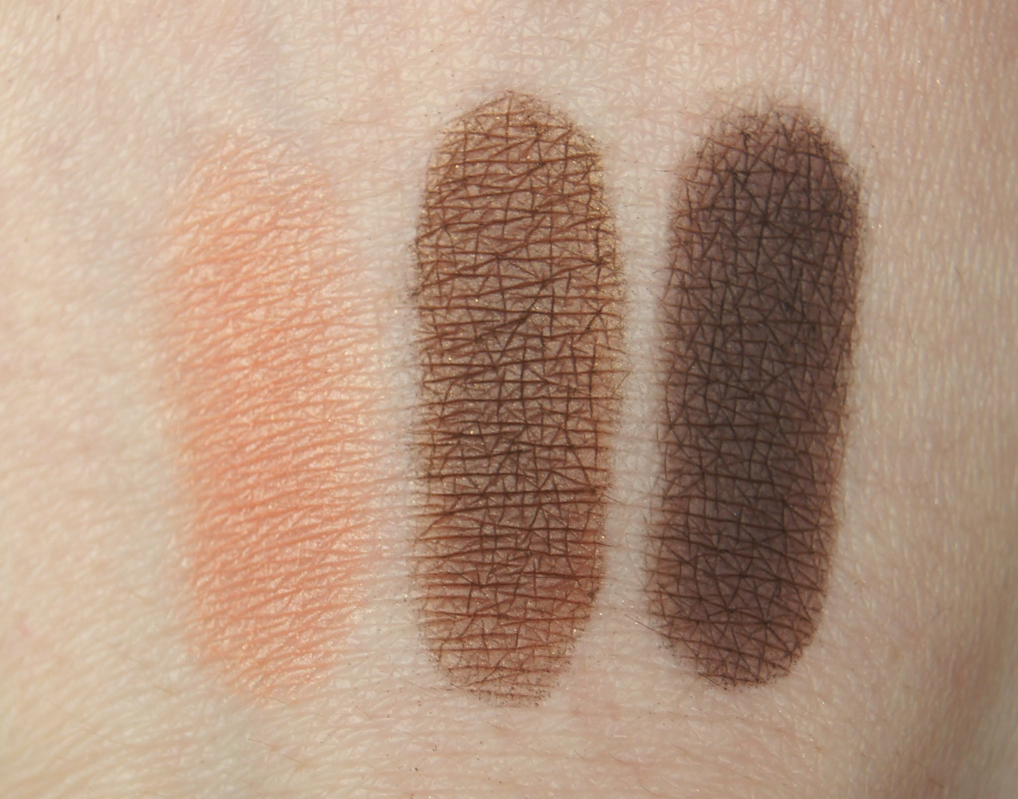 Smashbox Eyeshadow Swatches Coral Bronze Cocoa