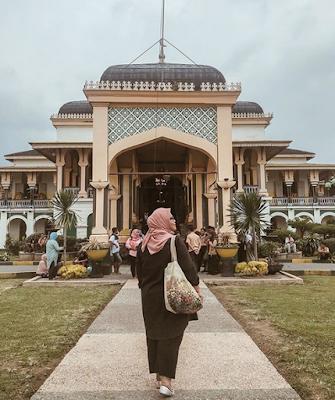 Lokasi Istana Maimun Medan