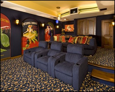 Home Theatre Decor Ideas
