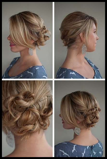 Phenomenal Top 6 Easy Casual Updos For Long Hair Latest Hair Styles Amp Colors Short Hairstyles For Black Women Fulllsitofus