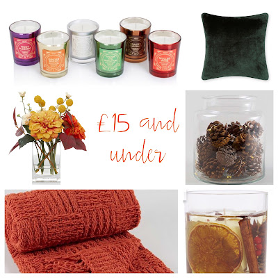 Autumn updates for £15 and under