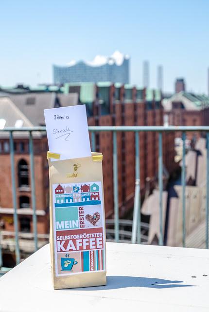 frisch gerösteter und frisch gemahlener Kaffee in der Hamburger Speicherstadt