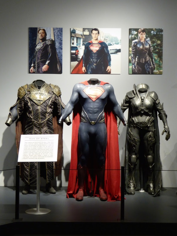 Man of Steel film costumes