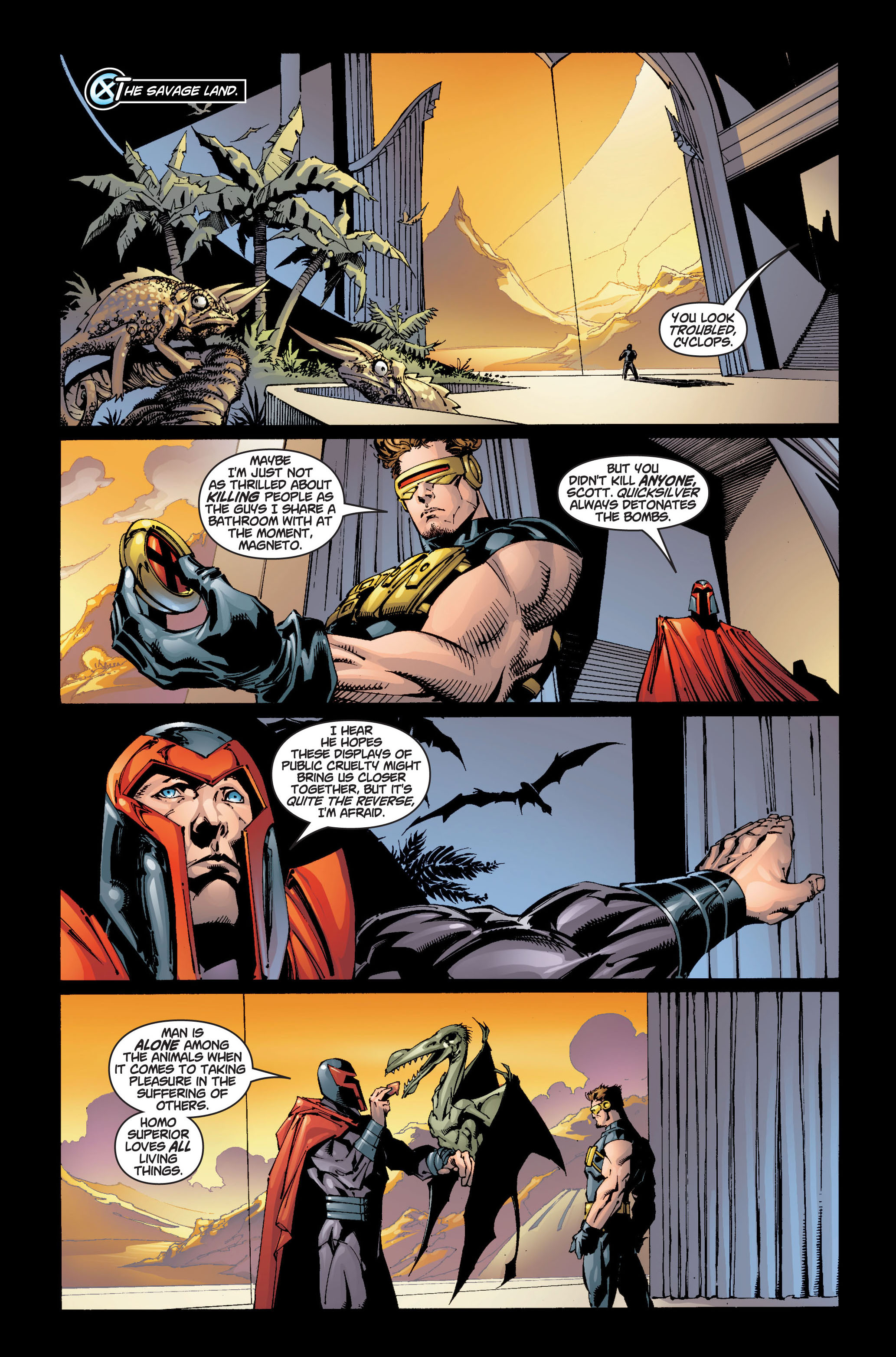 Read online Ultimate X-Men comic -  Issue #5 - 11