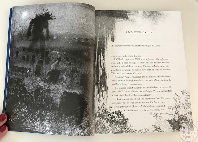 A Monster Calls first page